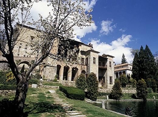 Yuste monastery. Cáceres province, Extremadura, Spain : Stock Photo