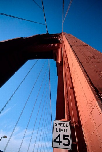 Golden Gate Bridge, San Francisco, California. USA. : Stock Photo
