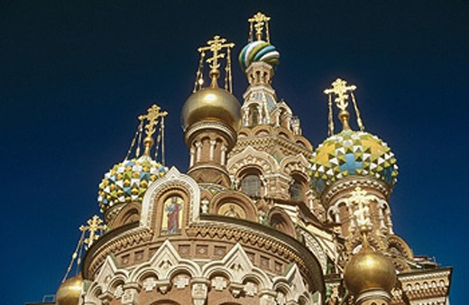 Stock Photo: 1566-0237967 Church of the Bleeding Savior. St. Petersburg, Russia