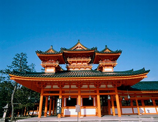 Heian Shrine. Kyoto. Japan : Stock Photo