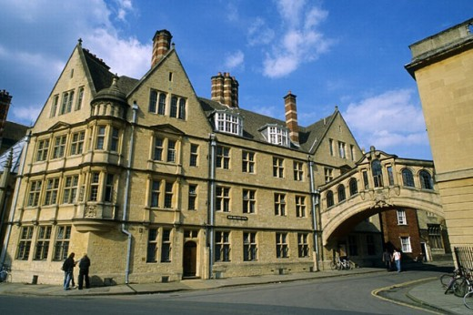 Hertford College. Oxford. England. UK : Stock Photo
