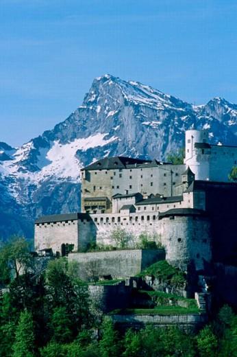 Hohensalzburg Fortress. Salzburg. Austria : Stock Photo