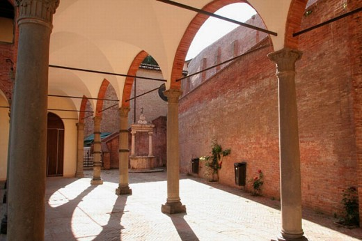 Shrine of St. Catherine of Siena, Siena. Tuscany, Italy : Stock Photo