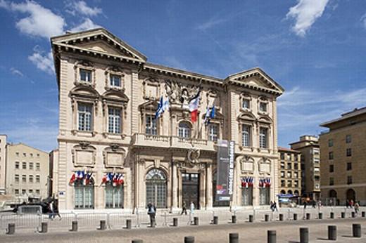 City Hall. Marseille. Bouches du Rhône. France. : Stock Photo