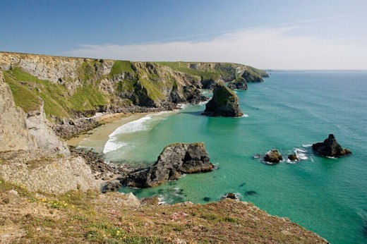 Stock Photo: 1566-0240371 Carnewas. North Cornwall. England. United Kingdom.