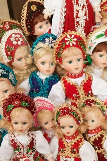 Hungarian Dolls. Budapest. Hungary. 2004. : Stock Photo