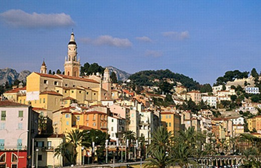Stock Photo: 1566-0243294 Menton. Côte d´Azur, France
