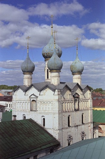 "Church of Saviour ""na torgu"" (1690). Rostov, Yaroslavl region, Russia : Stock Photo"