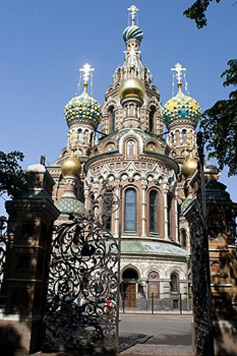 Church of the Resurrection, St. Petersburg, Russia : Stock Photo