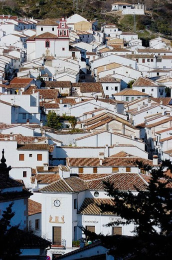 Stock Photo: 1566-0246210 Grazalema. Cádiz province, Andalusia, Spain