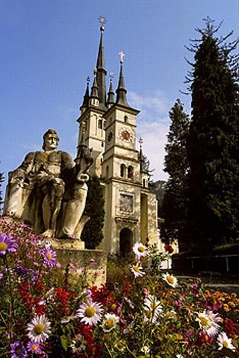 Stock Photo: 1566-0246724 St. Nicholas Cathedral. Brasov. Romania.