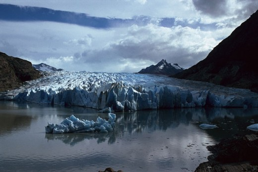 Stock Photo: 1566-030212 Grey Glacier. Torres del Paine National Park. Patagonia. Chile