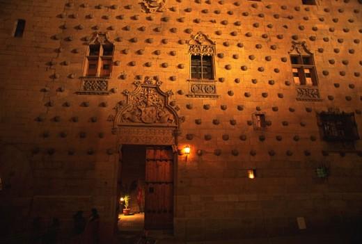 Casa de las Conchas. Salamanca. Spain : Stock Photo