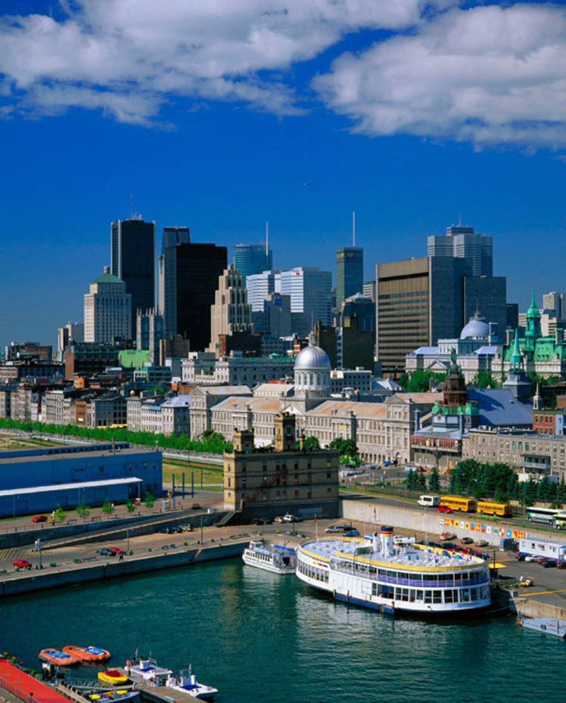 Stock Photo: 1566-030713 Old Port. Montreal. Quebec. Canada