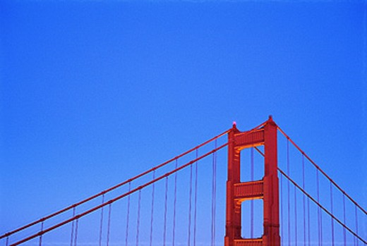 Golden Gate Bridge. San Francisco. California. USA : Stock Photo