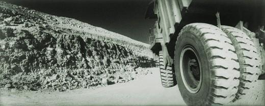Stock Photo: 1566-031349 Truck tyres