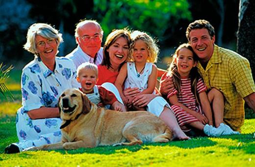 Stock Photo: 1566-036887 Family