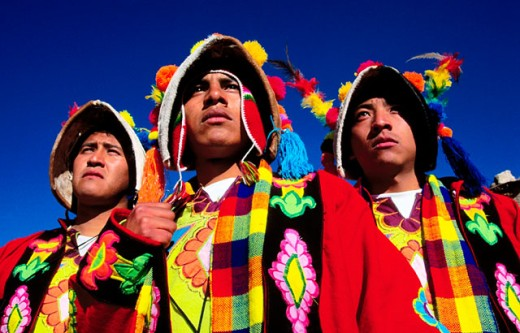 Typical costumes. Potosí. Bolivia : Stock Photo