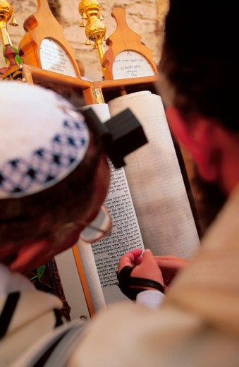 Western Wall, Bar Mitzvah day. Jerusalem. Israel : Stock Photo
