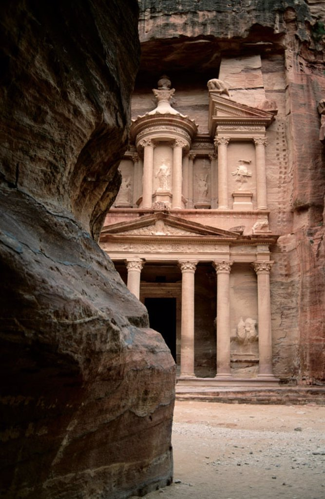 Petra. Jordan : Stock Photo