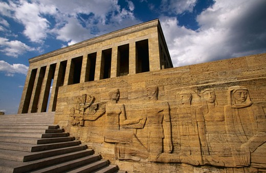 Anit Kabir (Ataturk´s mausoleum). Ankara. Turkey : Stock Photo