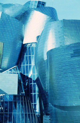 Guggenheim Museum, by F.O. Gehry. Bilbao. Biscay. Spain : Stock Photo
