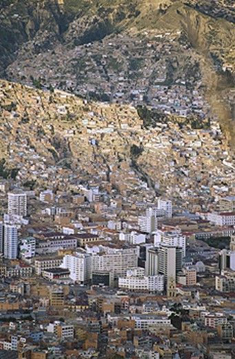 Stock Photo: 1566-040427 La Paz. Bolivia