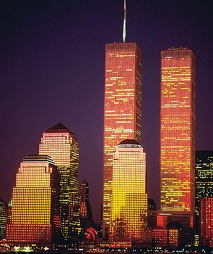 World Trade Center. Manhattan. New York city. USA : Stock Photo