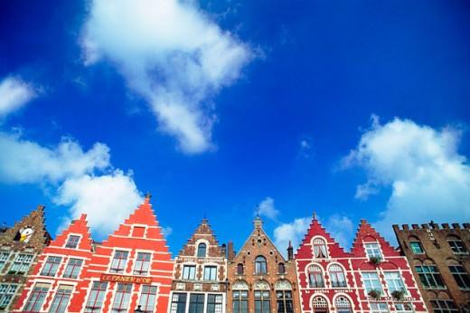 Market Square (Markt). Brugge. Belgium : Stock Photo