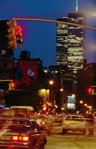 Sheridan Square on 7th Avenue. Greenwich Village. New York City. USA : Stock Photo