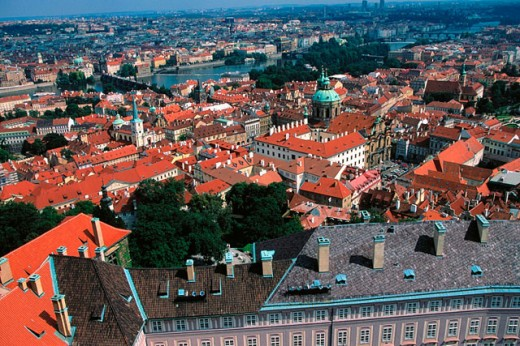 Stock Photo: 1566-044961 Malá Strana. Prague. Czech Republic