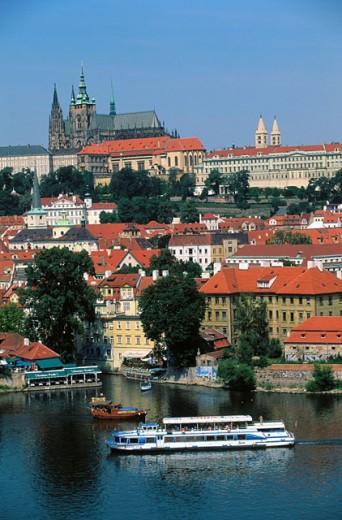 St. Vitus Cathedral. Prague. Czech Republic : Stock Photo
