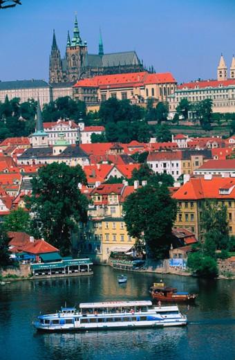 Stock Photo: 1566-044968 St. Vitus Cathedral. Prague. Czech Republic