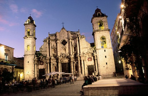 Stock Photo: 1566-045002 Cathedral. Havana. Cuba