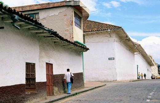 Cuenca´s Old town. Azuay province. Ecuador : Stock Photo