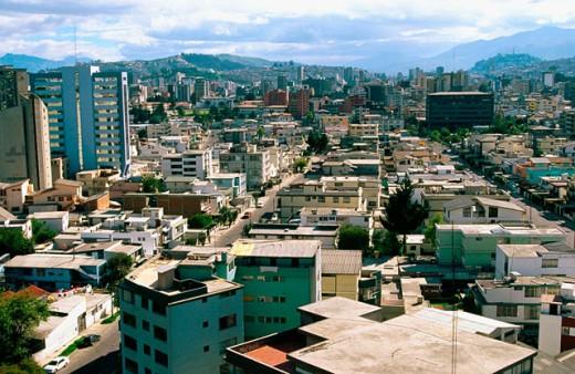 Downtown Quito. Ecuador : Stock Photo