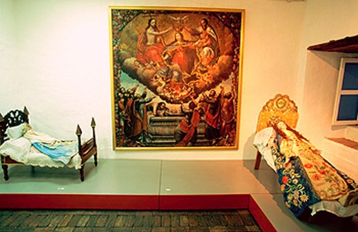 Religious Art Museum. Convento de las Madres Conceptas. Riobamba. Chimborazo. Ecuador : Stock Photo