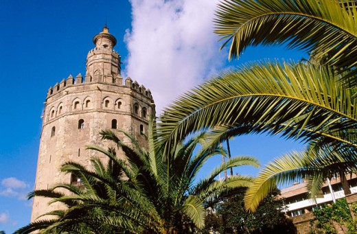 Stock Photo: 1566-045292 Torre del oro. Sevilla. Andalusia. Spain