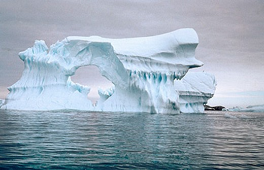 Stock Photo: 1566-045750 Iceberg. Antarctica