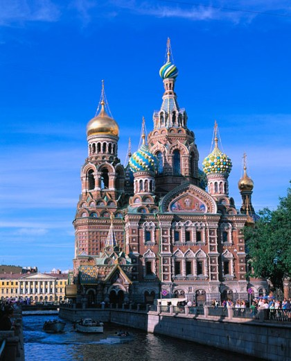 Bleeding Savior church. St. Petersburg. Russia : Stock Photo
