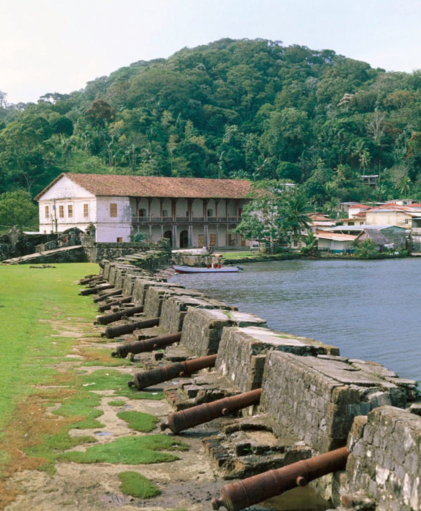 Stock Photo: 1566-046587 Portobelo fortress. Panama