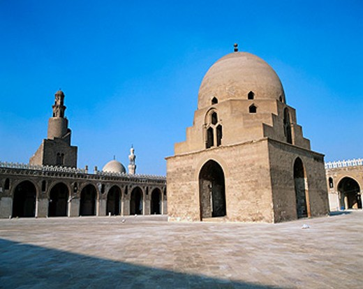 Ibn Tulun mosque. Cairo. Egypt : Stock Photo