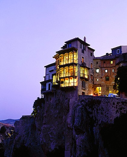 Hanging Houses. Cuenca. Spain : Stock Photo