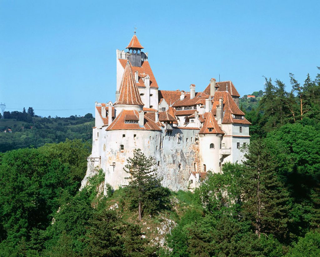 Bran castle (Dracula´s Castle). Bran. Romania : Stock Photo