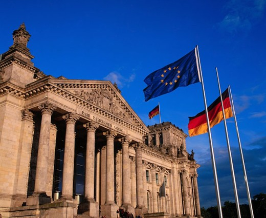 Reichstag. Berlin. Germany : Stock Photo