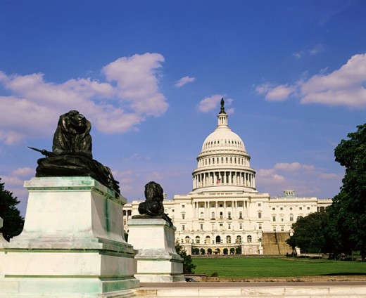 Stock Photo: 1566-047265 Capitol Building. Washington D.C. USA