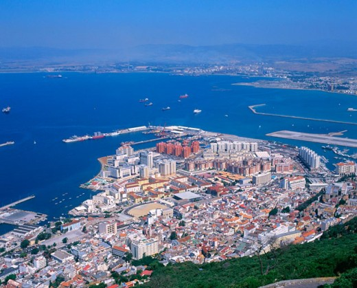 Gibraltar. UK : Stock Photo
