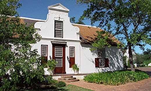 Laborie wine estate. Paarl, South Africa : Stock Photo