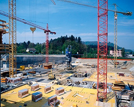 Stock Photo: 1566-048973 Construction