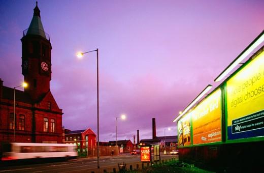 Stock Photo: 1566-048999 Gasworks. Belfast. Northern Ireland
